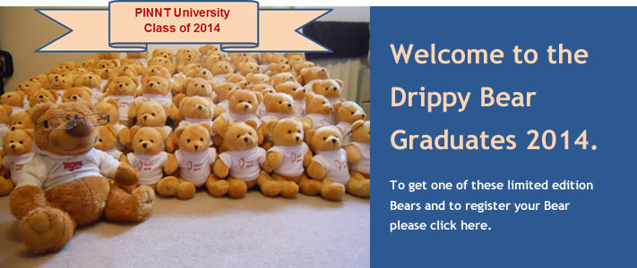 Order your Limited Edition Drippy Bear
