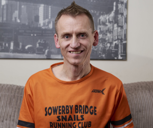 Gary's marathon success story Article