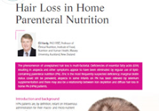 Hair Loss in Home Parenteral Nutrition